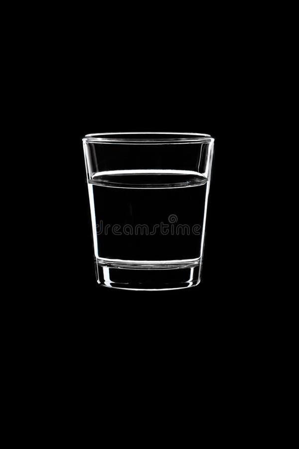 小射击用伏特加酒 免版税图库摄影