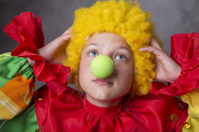 小小丑失望 免版税图库摄影