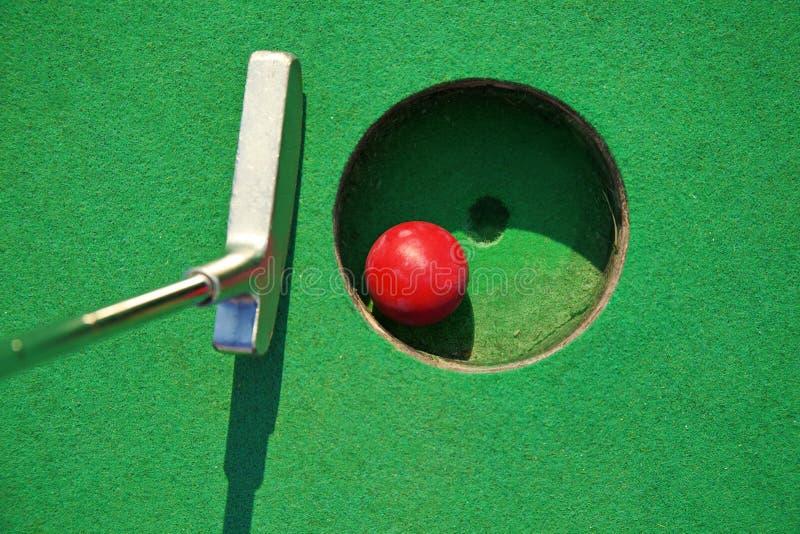 小小高尔夫球 图库摄影