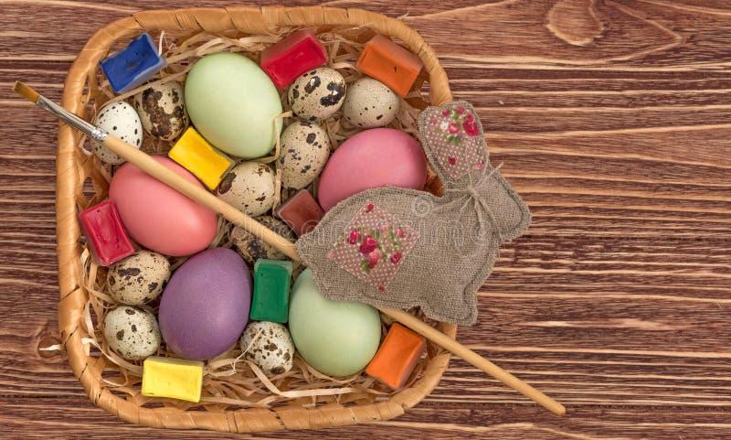 小小组鸡蛋 免版税库存照片
