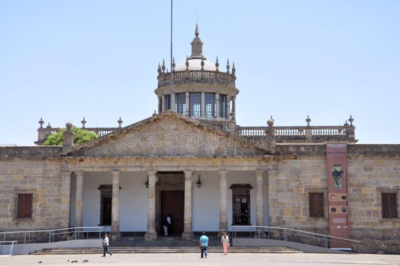 小屋瓜达拉哈拉hospicio墨西哥 免版税库存照片