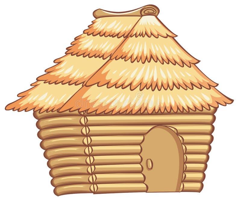 小屋 向量例证