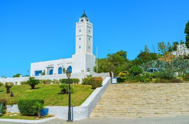小山的清真寺 库存照片