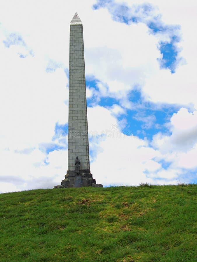 小山纪念碑一结构树 免版税库存照片