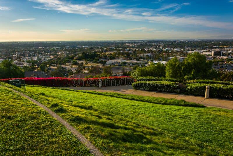 从小山顶公园的看法,信号小山的 库存图片
