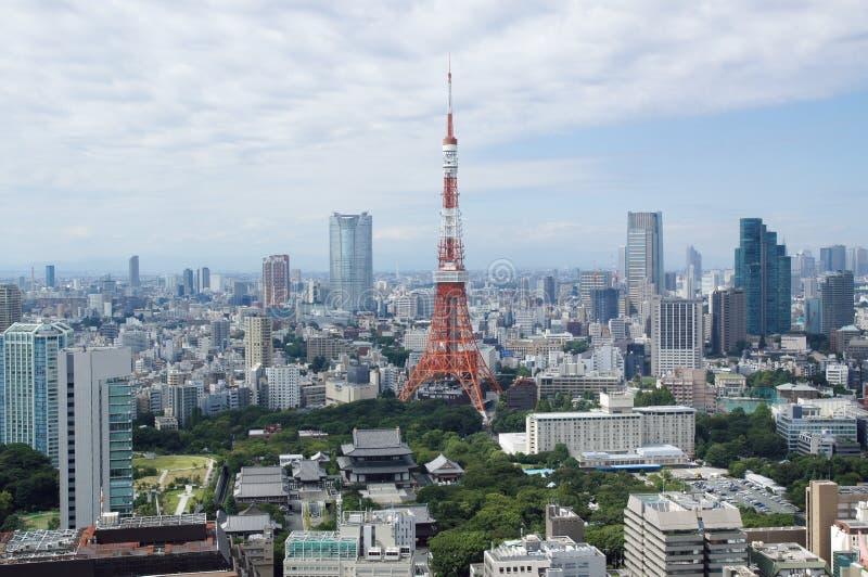 小山roppongi东京塔 免版税库存照片