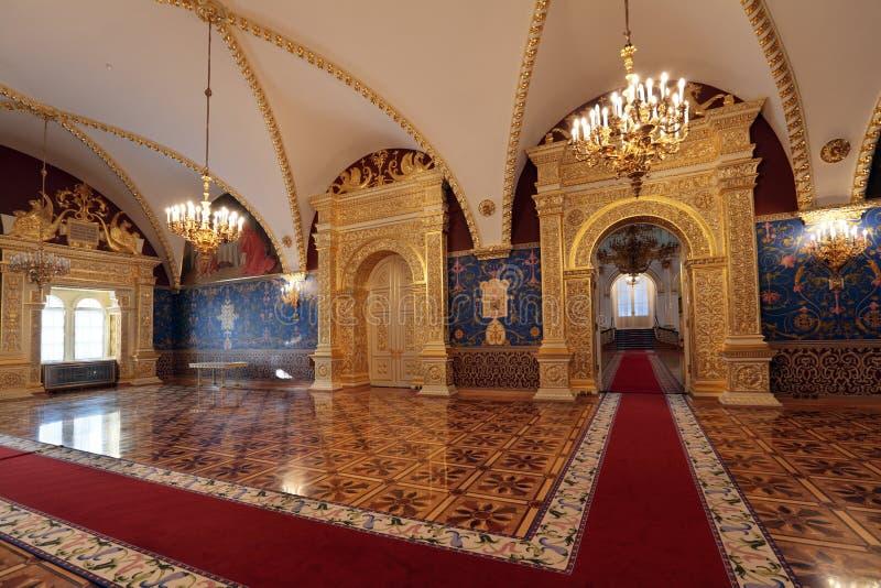 小平面的宫殿 免版税库存照片