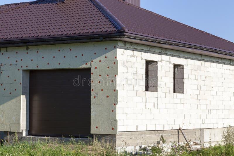 小建筑的房子 免版税库存图片