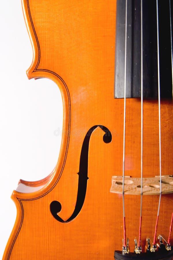 小提琴回合 免版税图库摄影