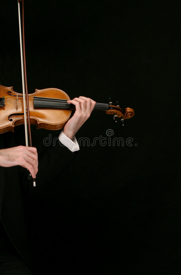 小提琴 库存图片