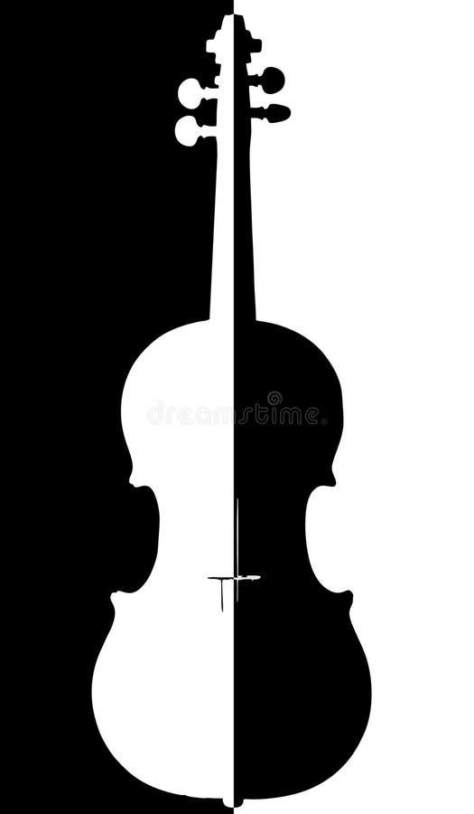小提琴。 免版税库存图片