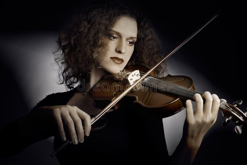 小提琴球员古典音乐 库存照片