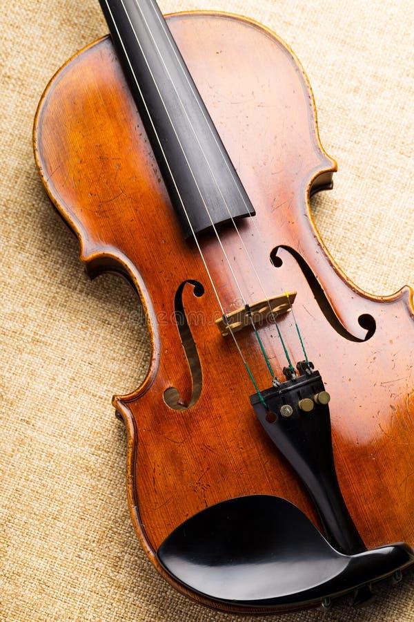 小提琴 免版税图库摄影