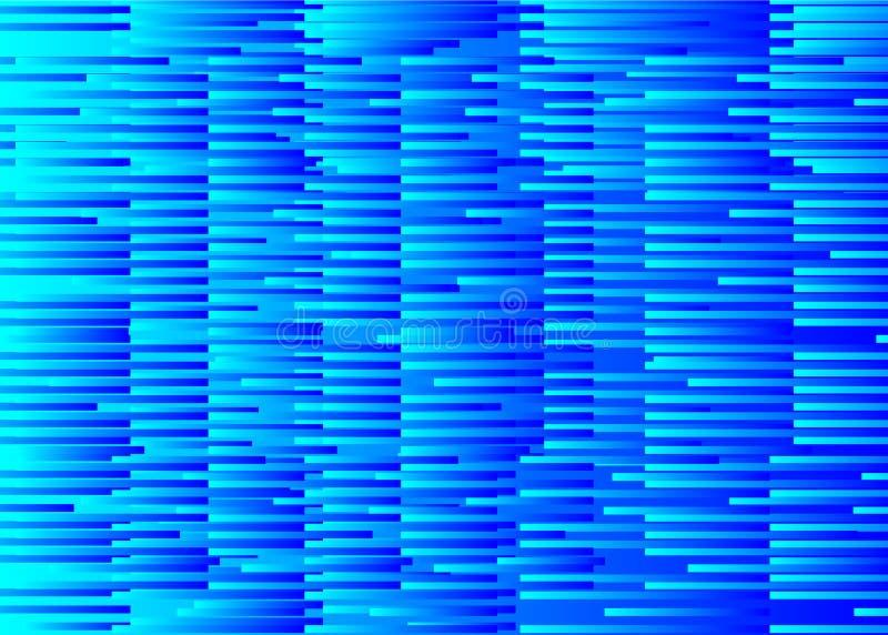 小故障横幅,数字式噪声 向量例证