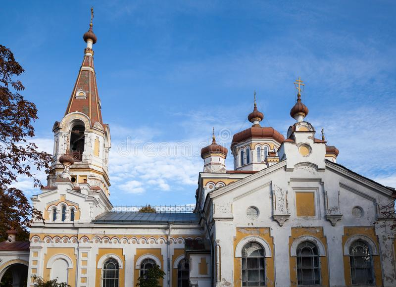 小教会在利耶帕亚 免版税库存照片