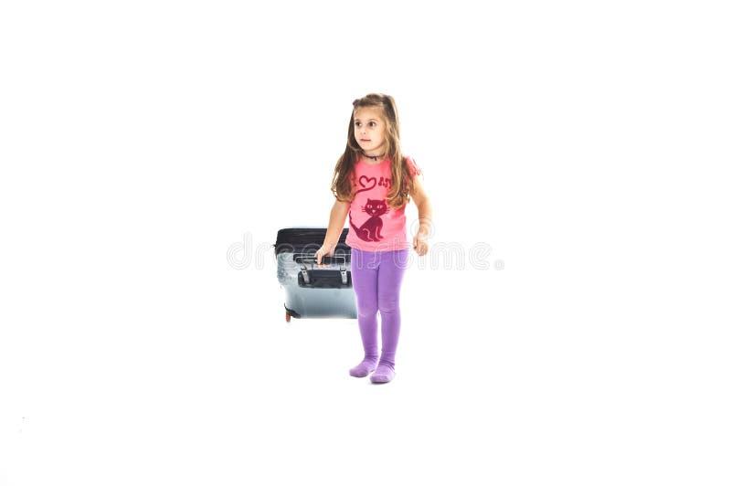 小旅行家 免版税图库摄影