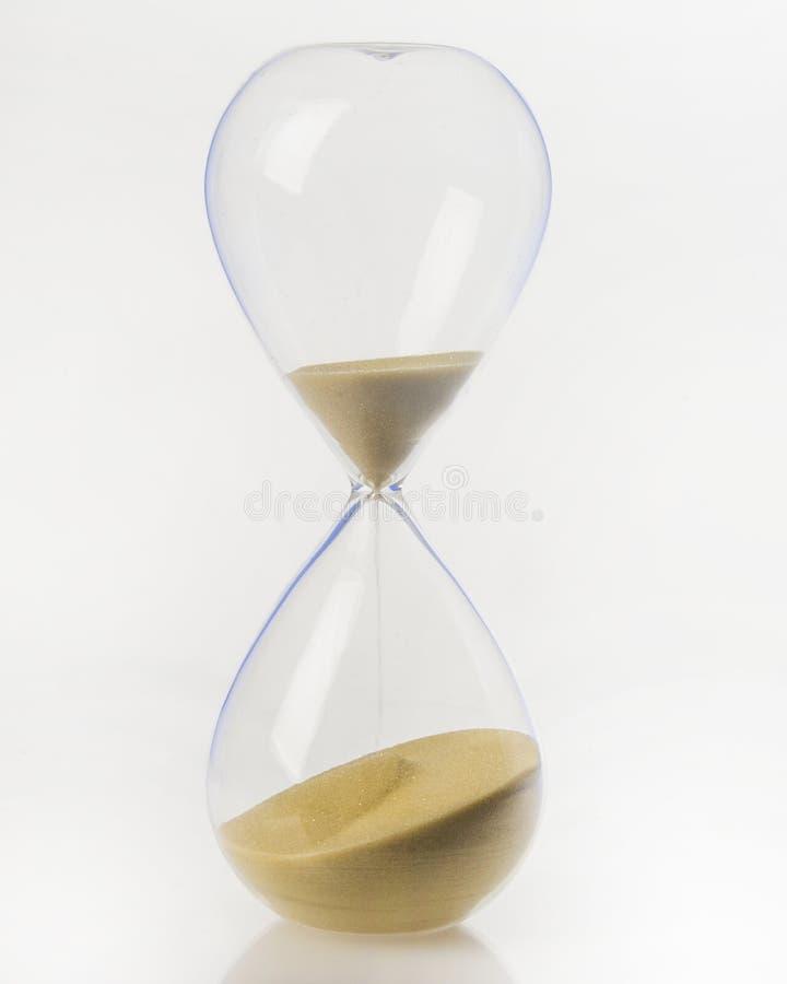 小时玻璃 免版税库存照片