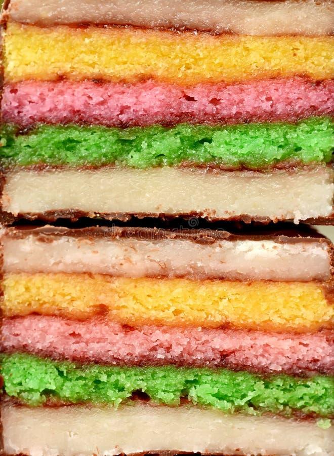 小杏仁饼小蛋糕 免版税库存图片
