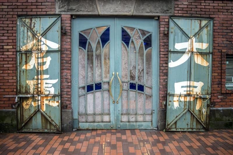 小樽仓库门,北海道,日本 库存图片