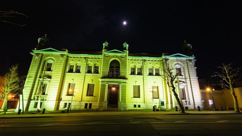 小樽博物馆日本银行 免版税图库摄影