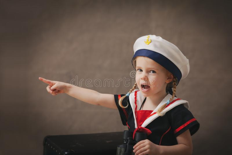 小水手 库存照片