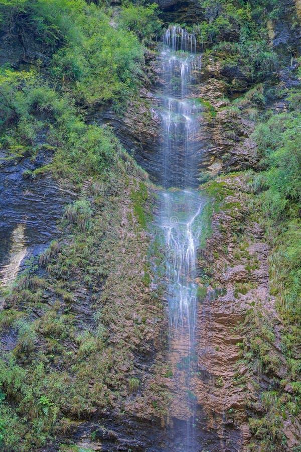 小河瀑布 图库摄影