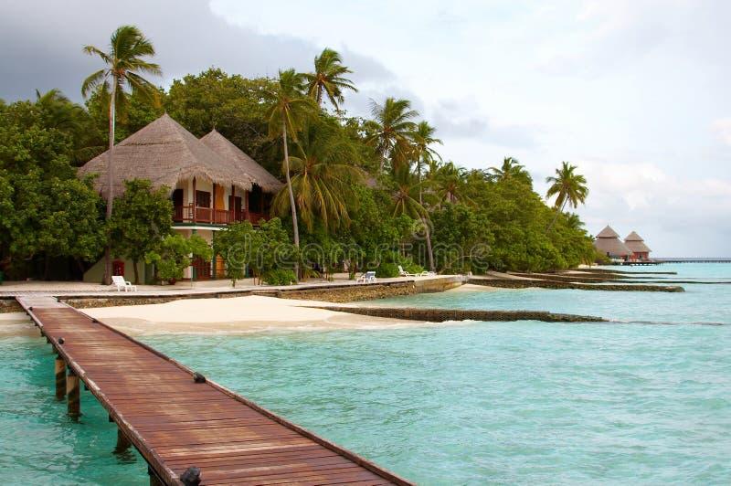 小海岛的海洋 免版税库存图片