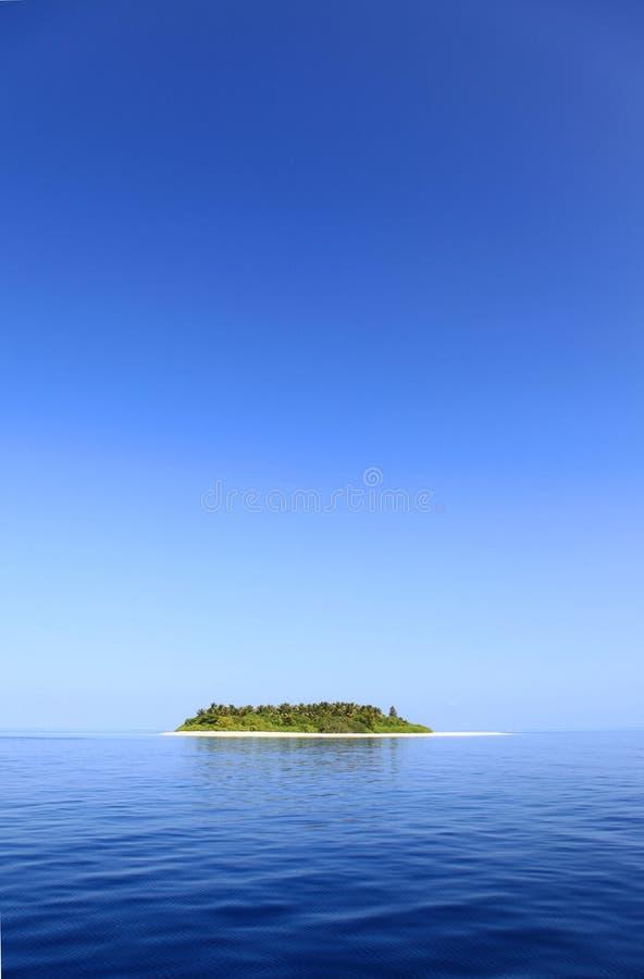 小海岛 免版税图库摄影