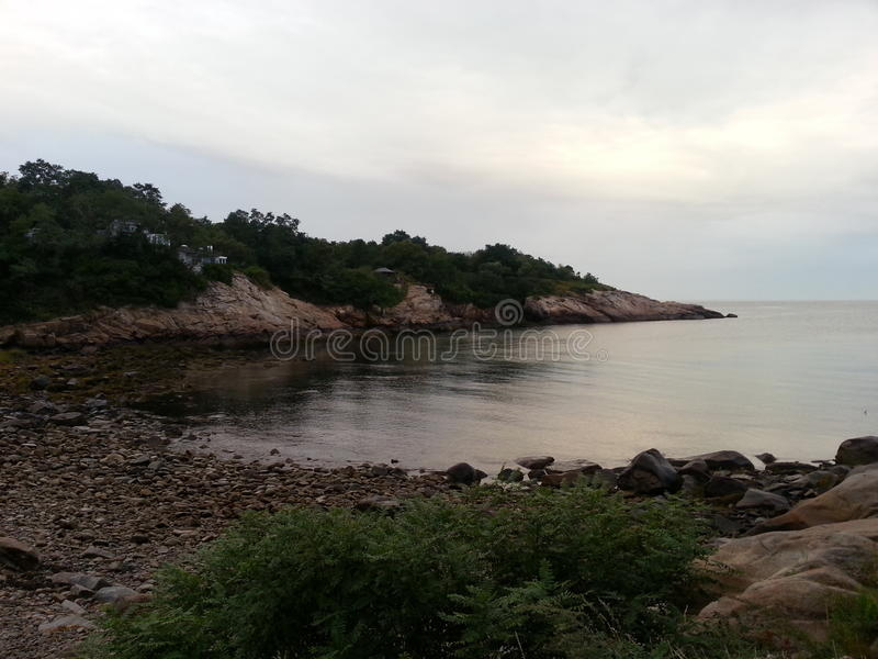 小海湾着陆 库存图片