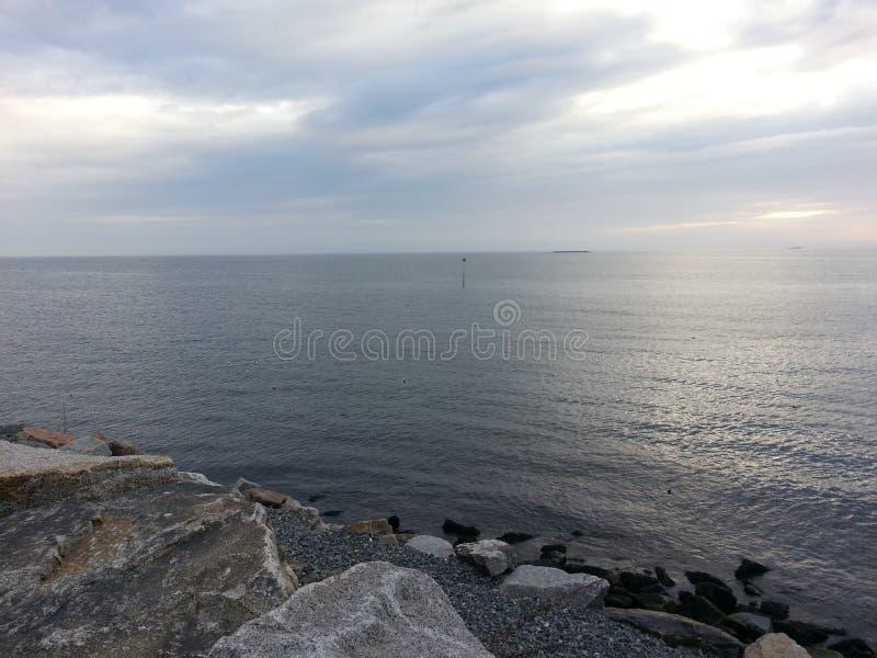 小海湾 库存图片