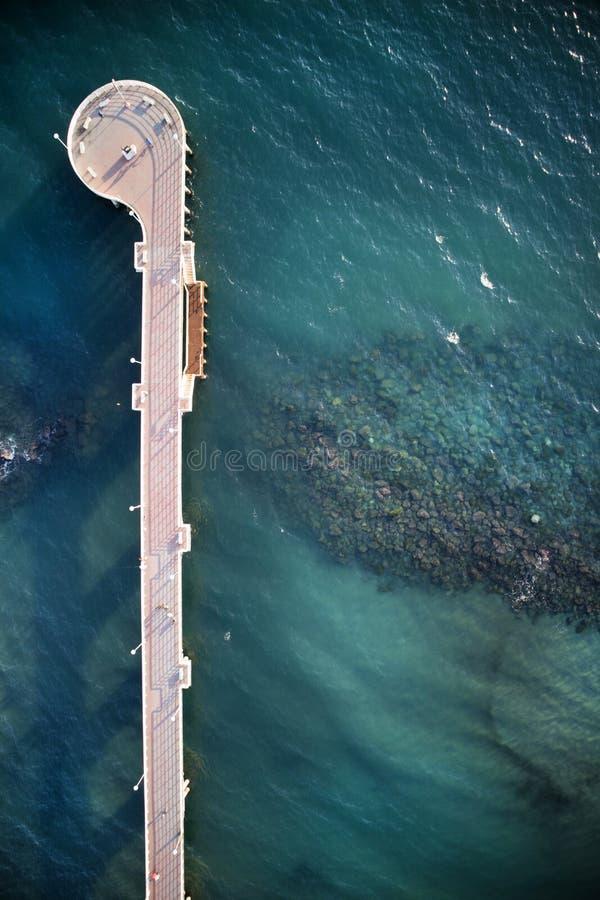 小游艇船坞二马萨意大利码头  免版税图库摄影