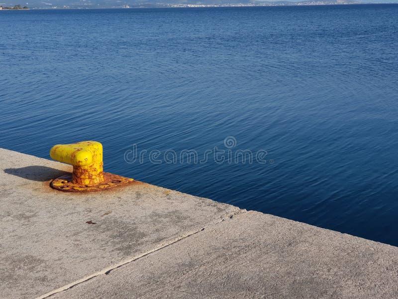 小游艇船坞Alimos 库存照片