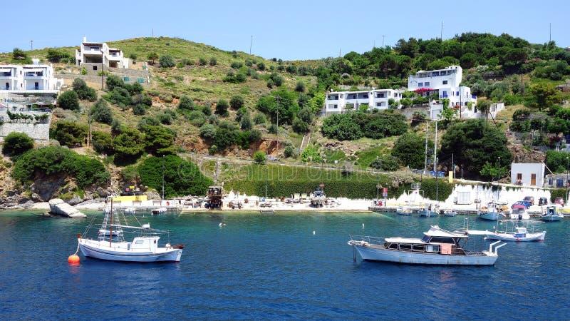 小游艇,斯基罗斯岛希腊人海岛 免版税库存图片