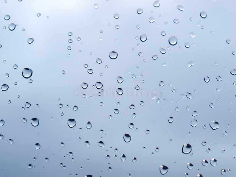小滴雨 免版税库存图片