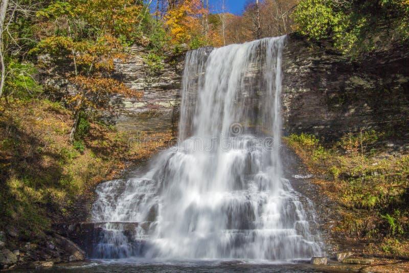 小瀑布,贾尔斯县,弗吉尼亚,美国 免版税图库摄影