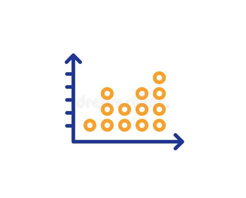 小点剧情图表线象 介绍图标志 向量 向量例证