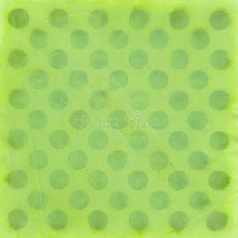 小点绿色模式短上衣 库存例证