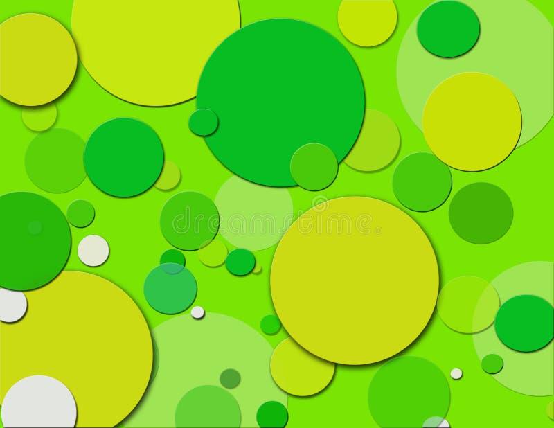 小点绿色造币厂的短上衣 向量例证
