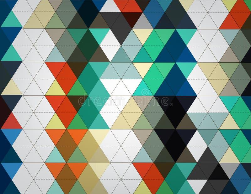小点网络颜色技术 库存例证