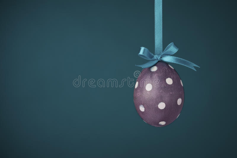 小点蛋质朴的短上衣紫色 库存照片