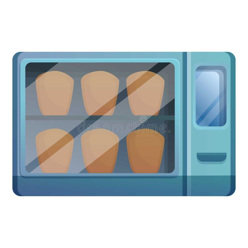 小烤箱象,动画片样式 库存例证