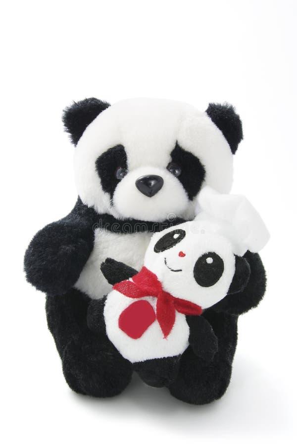 小熊猫软的玩具 免版税库存图片