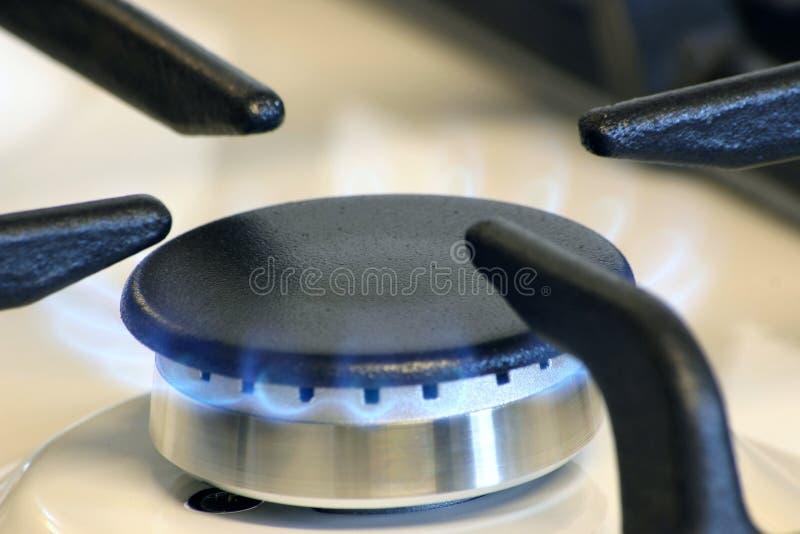 小燃烧器的气体 免版税图库摄影