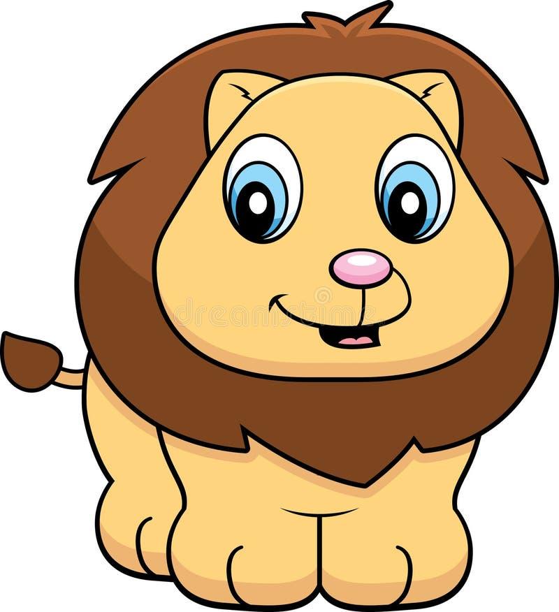 小狮子 库存例证
