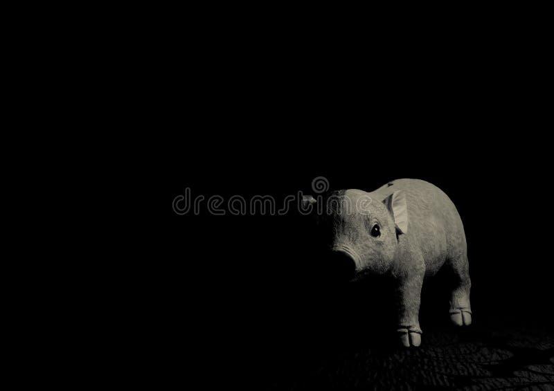 小猪玩具 免版税库存图片