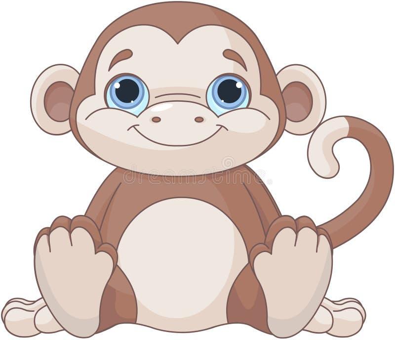 小猴子 库存例证