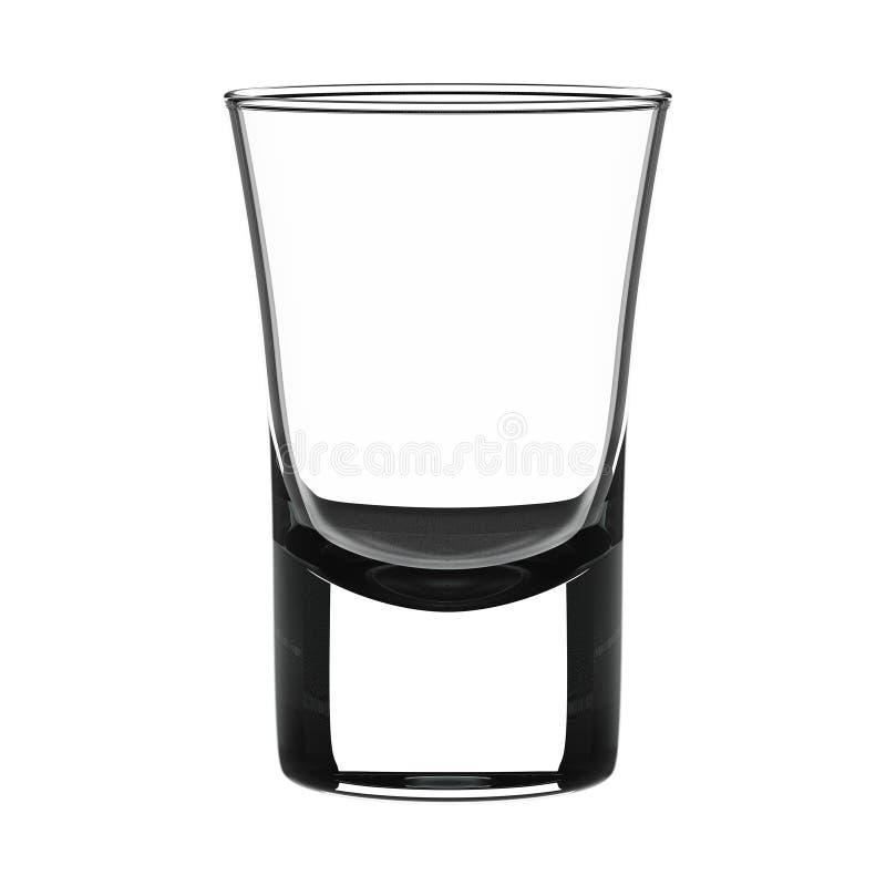小玻璃的射击 向量例证