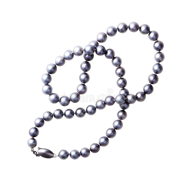 小珠珍珠 免版税库存图片