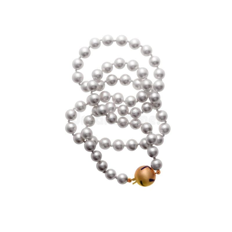 小珠珍珠 库存照片