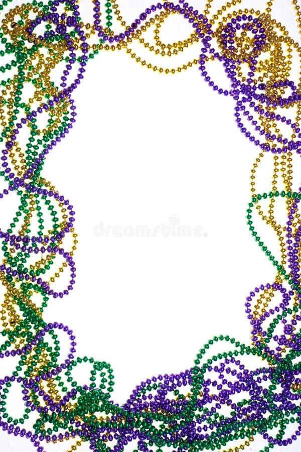 小珠颜色框架三 免版税图库摄影